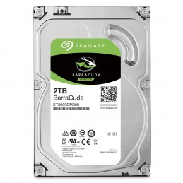 Disque dur interne 2 TO Seagate BarraCuda - Espace stockage USB