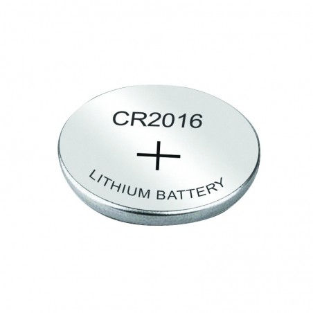 Pile bouton CR2016 3V Lithium 20mm de diamètre