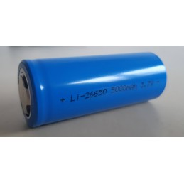 Accus ICR26650 5000mAh - Piles rechargeables